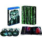 マトリックス トリロジー HDデジタル・リマスター&日本語吹替音声追加収録版 (初回限定生産/6枚組/豪華ボックス&ブックレット付) [Blu-ray]