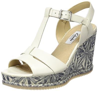 a6167e84414 Clarks Adesha River Women s Wedge Heels Sandals