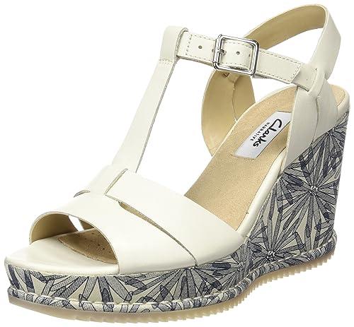 e5639c88cfc54c Clarks Adesha River Women s Wedge Heels Sandals