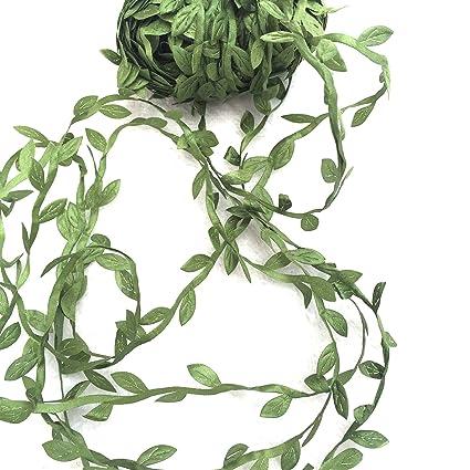 Brand new Amazon.com: levylisa 21.8 Yards Olive Leaf Vine Ribbon, DIY Leaf  RP63