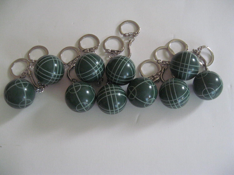 Regent-Halex Bocce Ball Keychain pack of 10