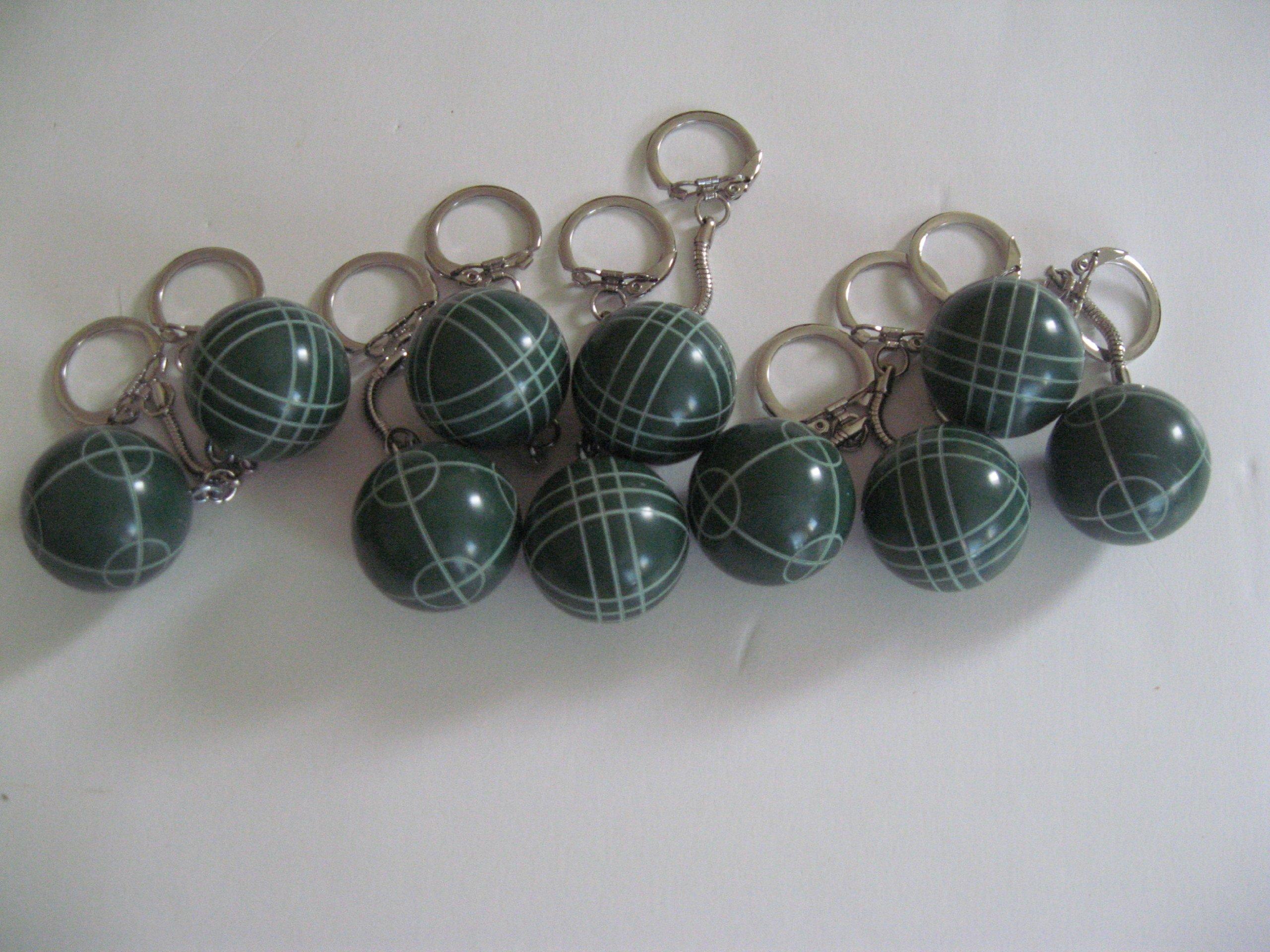 Regent-Halex Bocce Ball Keychain - pack of 10 by Regent-Halex