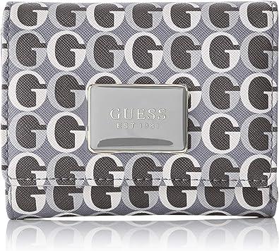 Guess Slg Wallet, Portefeuilles femme, Multicolore (Black