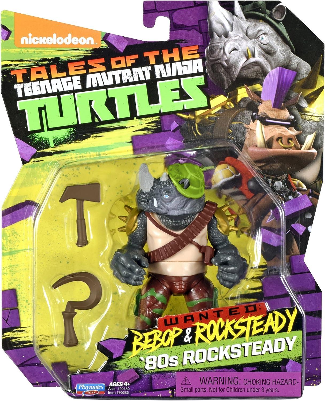 Amazon.com: Teenage Mutant Ninja Turtles Rocksteady en el 80 ...