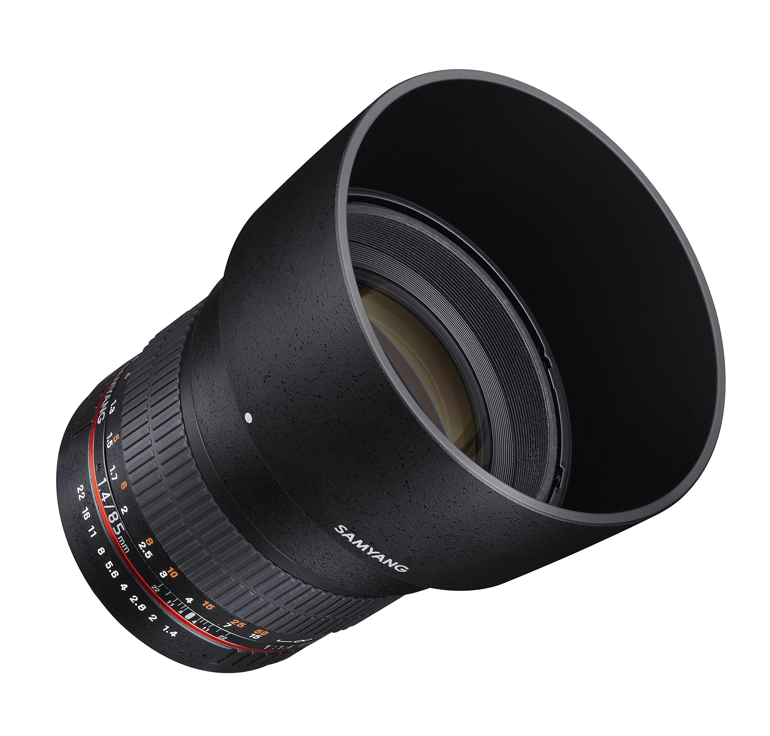 Samyang SY85M-P 85mm F1.4 Lens for Pentax by Samyang