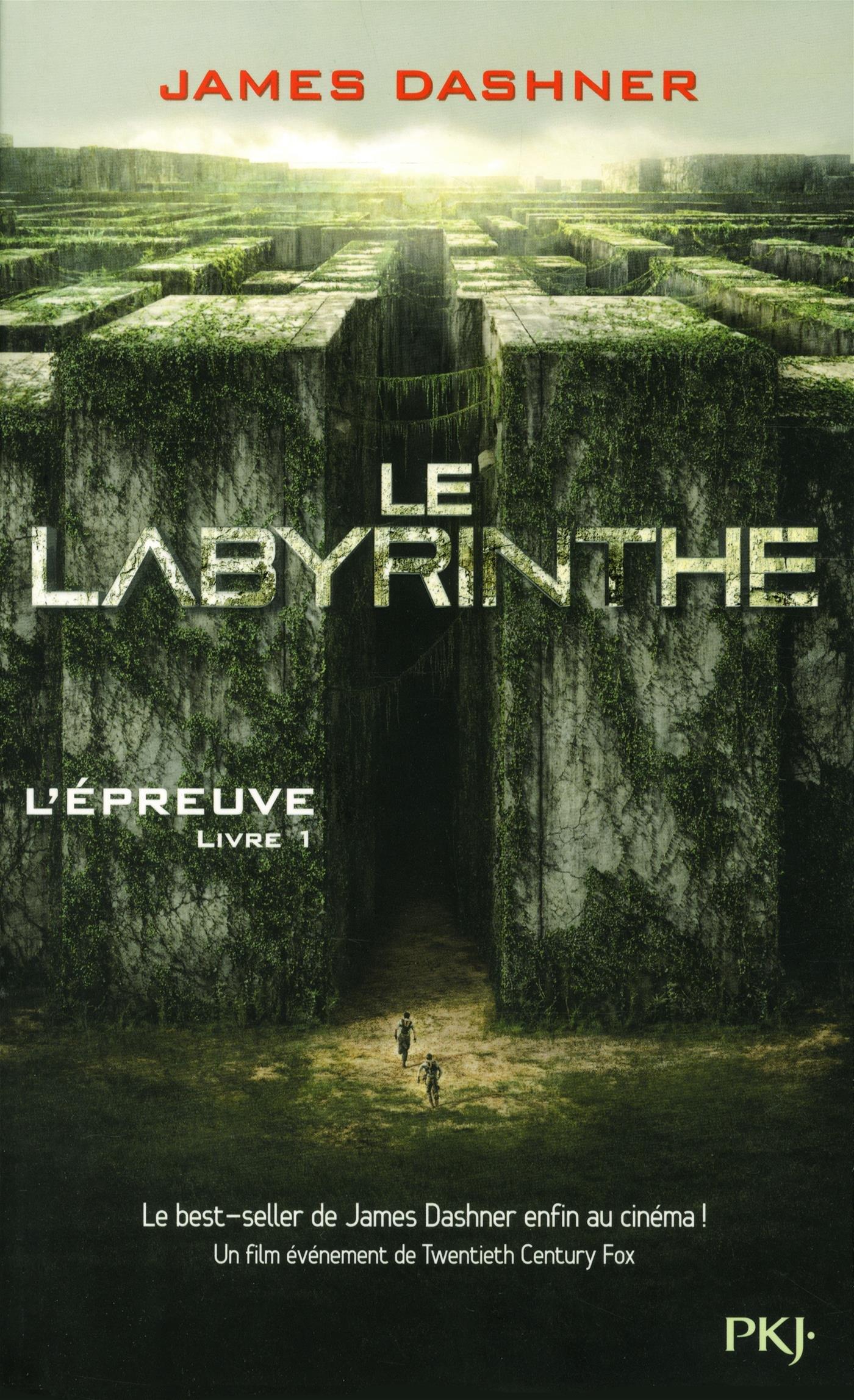 Lépreuve Livre 1 Le Labyrinthe Amazonca James Dashner
