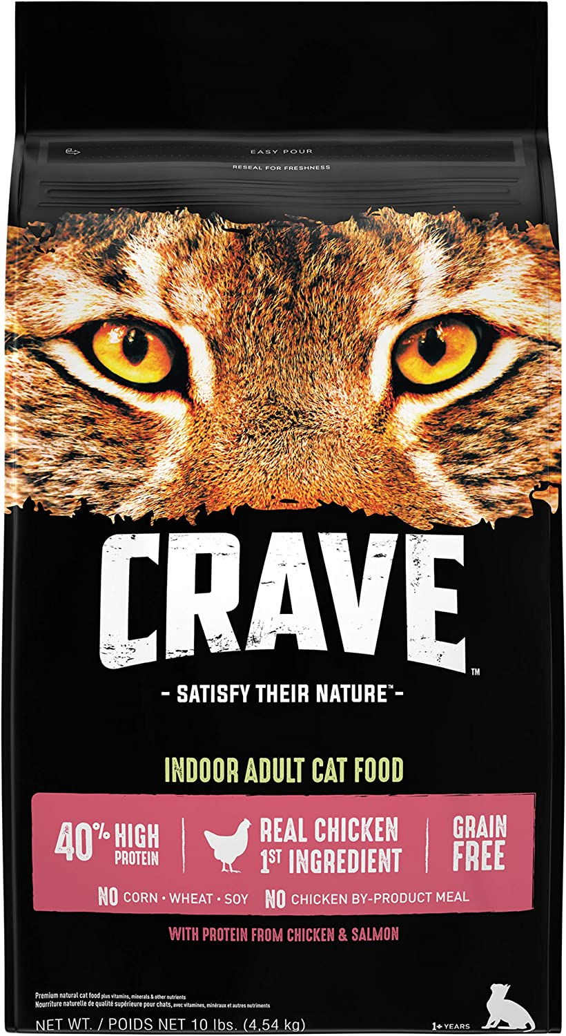 CRAVE Grain Free High Protein Dry Cat Food