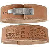 Lever Buckle Weightlifting Belt Real Genuine Leather Individually Handmade Powerlifting & Bodybuilding