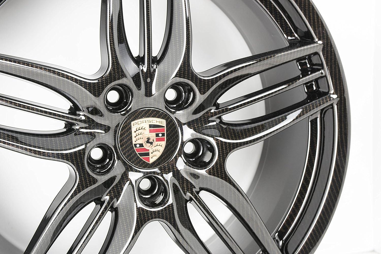 Original Porsche 911 991 carrera/Targa Llantas Juego brillian 20 pulgadas carbon NR: Amazon.es: Coche y moto