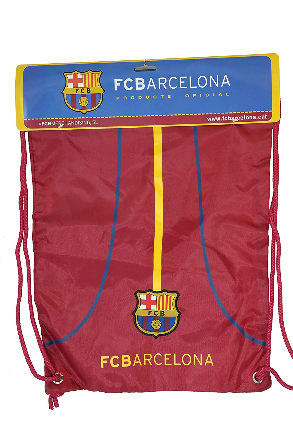 FC Barcelona Authentic Official Licensed Soccer Drawstring Cinchバッグ04 B011SFYZB0