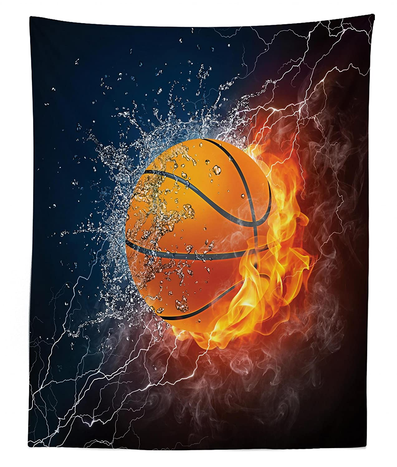 Wall Hanging Bedspread Bed Cover Wall Decor Lunarable Sports