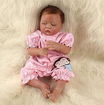 Amazon.es: ZIYIUI Muñecas Bebes para Niñas Hecho a Mano Bebes Reborn Silicona Recien Nacidos Reborn Niña Niño Reborn Baby Dolls Recién Nacido Regalo de Juguete 20inch 50cm: Juguetes y juegos