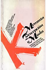 Memoria, Percepcion y Moda Paperback