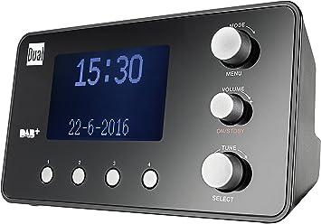 Dual Dab Cr 25 1 Radiowecker Dab Ukw Radio Senderspeicherfunktion Snooze Funktion 2 Weckzeiten Sleeptimer Datumsanzeige Kopfhöreranschluss Schwarz Heimkino Tv Video