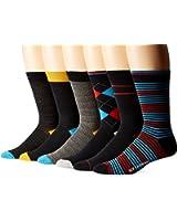 Ben Sherman Men's 6-Pack Henry Crew Socks