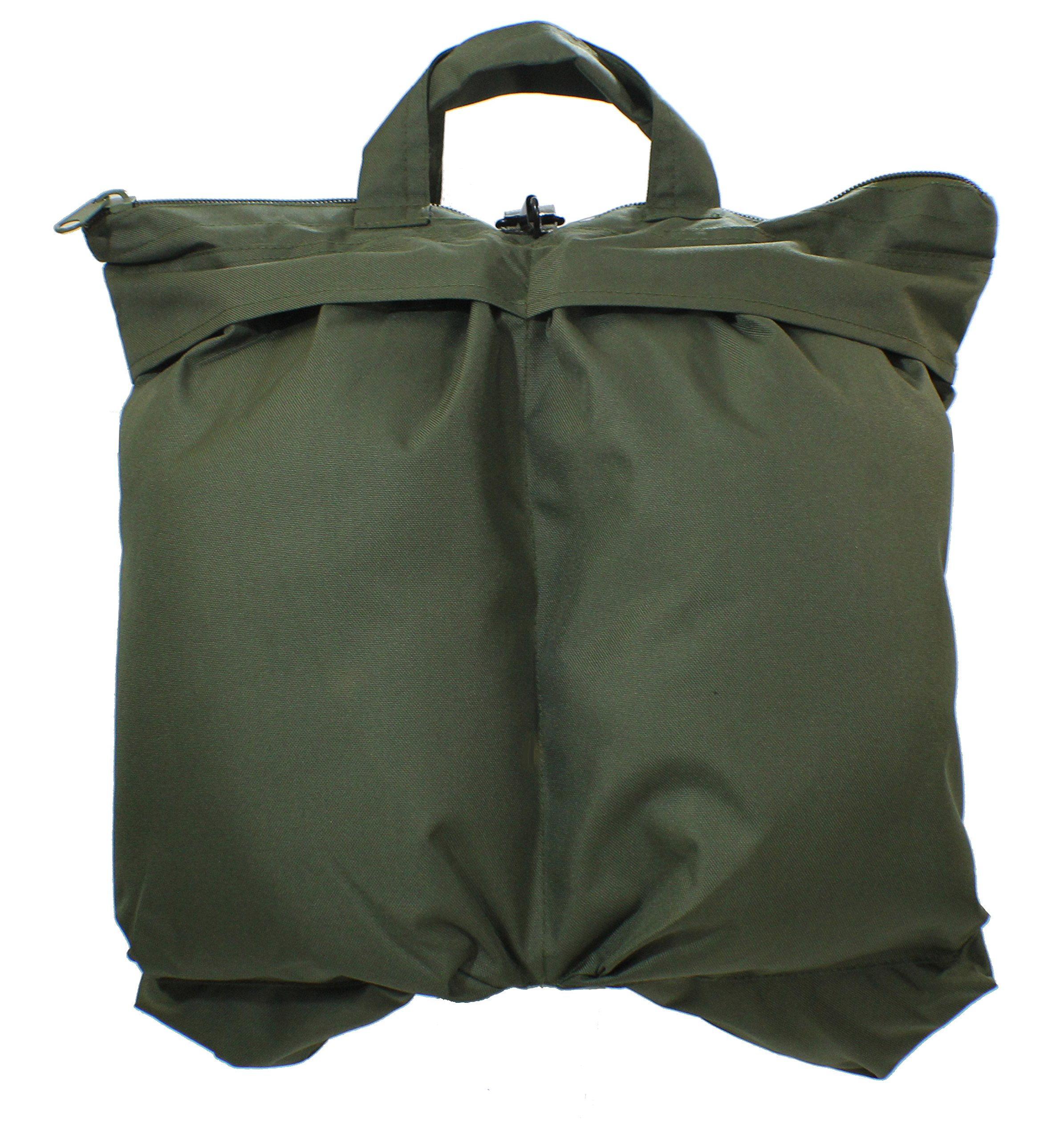 Mil-Tec Pilot's Helmet Bag with Strap - Olive Drab by Mil-Tec