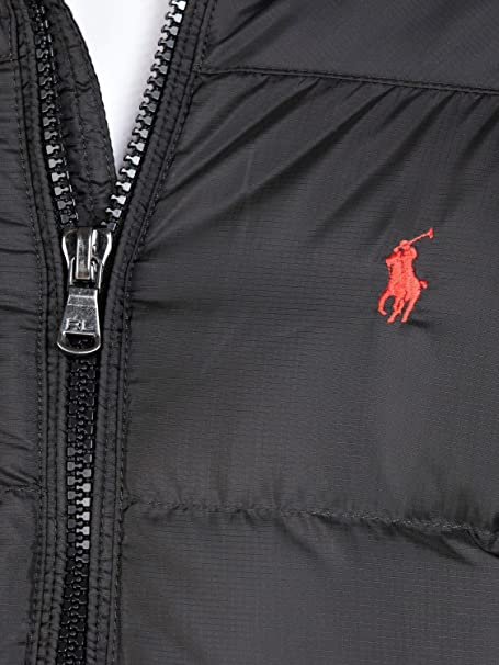Mens Polo Jacket Xl Ralph Rrp £349 Puffa Lauren Down Black Rl250 OPXikuZ