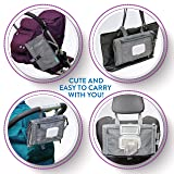 Portable Diaper Changing Pad, Portable Changing pad for Newborn boy & Girl- Baby Changing Pad with Smart Wipes Pocket - Waterproof Travel Changing Station kit - Baby Gift by Kopi Baby