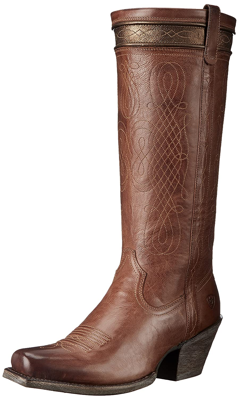 Ariat Women's Trinity Western Cowboy Boot B013WSCLJ4 10 B(M) US|Chai