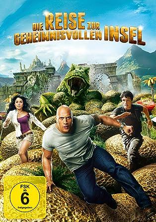 Die Reise zur geheimnisvollen Insel [Alemania] [DVD]