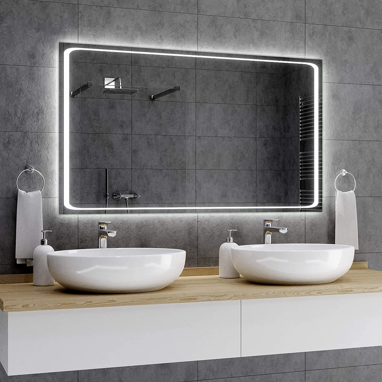 Sensor Schalter zu W/ähle Barcelona Viele Gr/ö/ßen Alasta Wandspiegel Spiegel nach Ma/ß