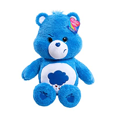 "Care Bears 21"" Jumbo Plush Grumpy, Blue: Toys & Games"