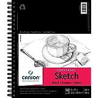Canson Universal Cuaderno para Bocetos, 22.9 cm X 30.5 cm, 100 Hojas