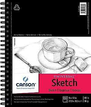 CANSON 163 GSM Sketchbook