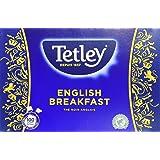 TETLEY Boîte de 100 sachets Tir Press sans Protect Arôme Thé Anglais Breakfast 200 g - Lot de 3
