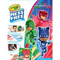 Crayola Color Wonder PJ Masks Coloring Book Pages & Markers, Mess Free Coloring, Gift for Kids, Age 3, 4, 5, 6 75-7005
