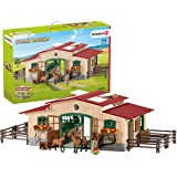Schleich SC42195 Stable with Horses and Accessories Playset