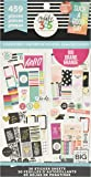 me & my BIG ideas PPSV-13 Create 365 The Happy Planner Sticker Value Pack Planner - BIG Color Story - 459 Stickers