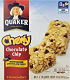 Quaker Chocolate Chip Bars - 0.84 oz - 8 Count