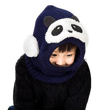 Lora Chat Mixte Cagoule Ajustable Chaud Enfant Fille Garçon Bébé Protection  Tour de Cou Visage Oreilles 1 2173c96341e