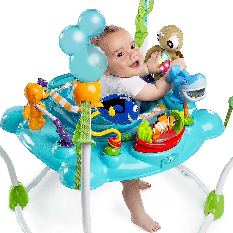 amazoncom  disney baby finding nemo sea of activities jumper  baby -