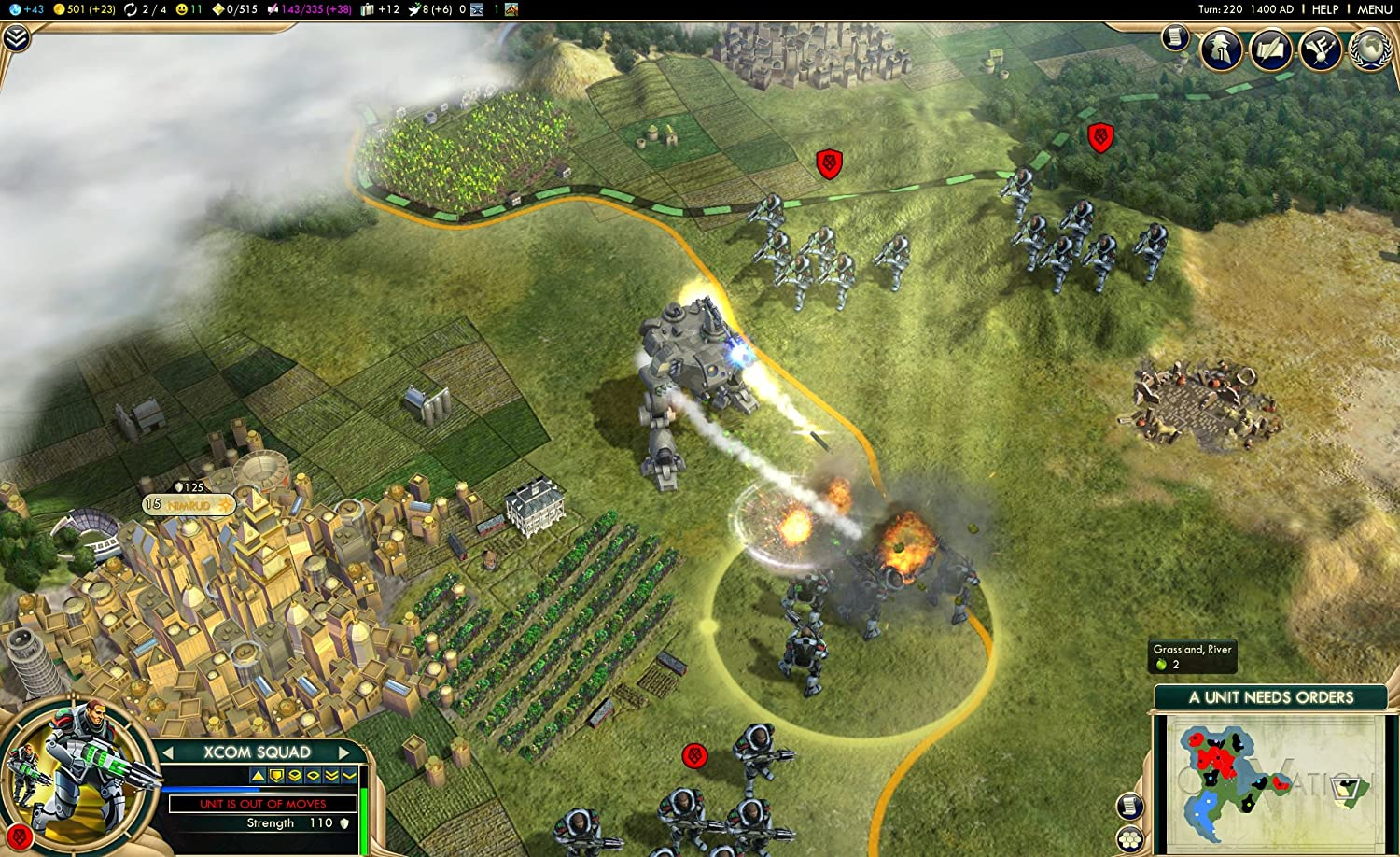 Let's Play Civilization 5 Brave New World: The Civil War - The .
