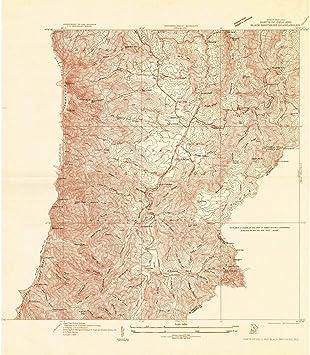 Amazon.com: North Carolina Maps | 1934 Parts of Celo and Black