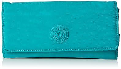 Kipling Portemonnaie Cm Turquoise Amazonfr Chaussures Et Sacs - Porte monnaie kipling