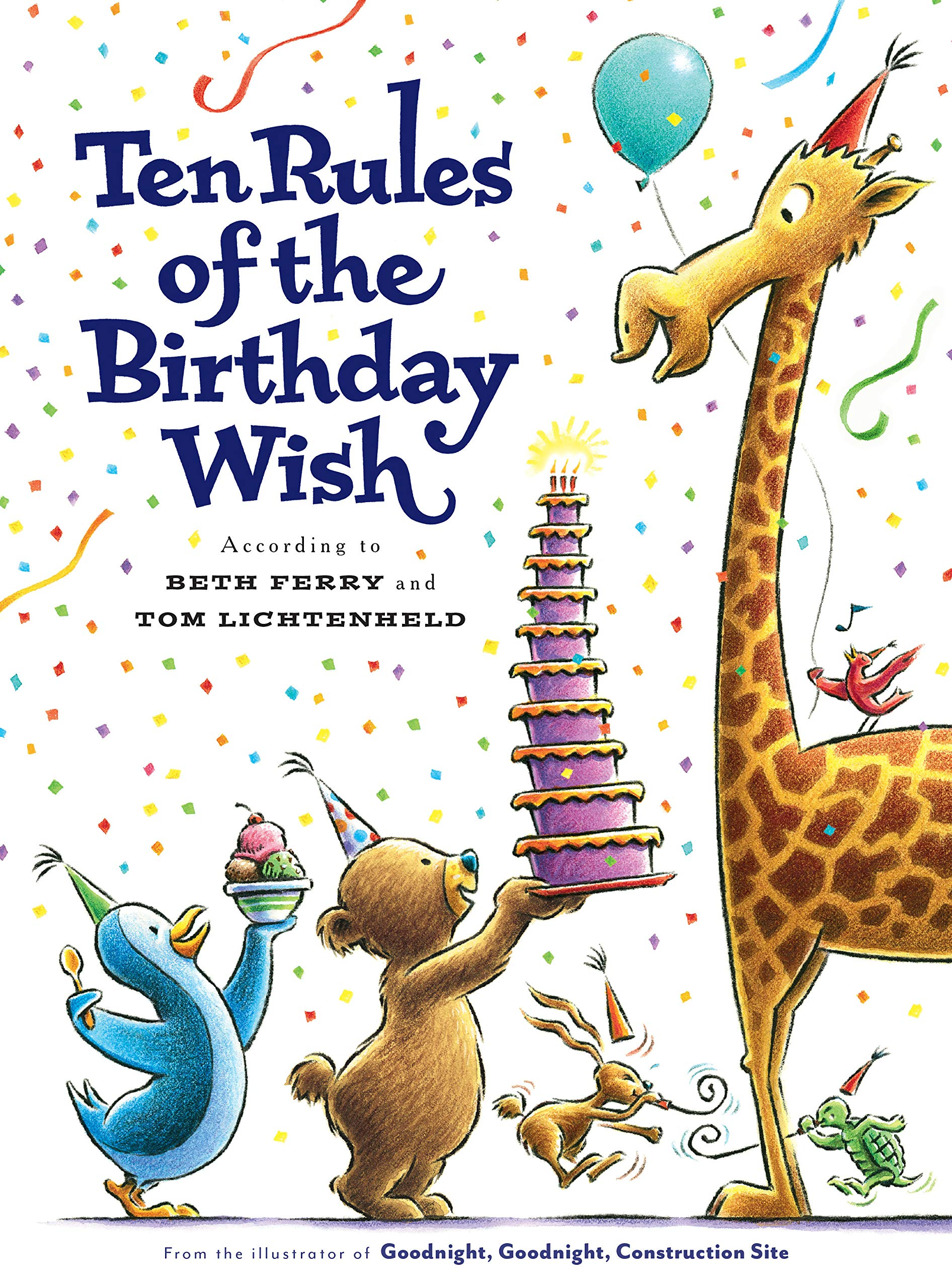 Image result for Ten Rules of The Birthday Wish by Beth Ferry