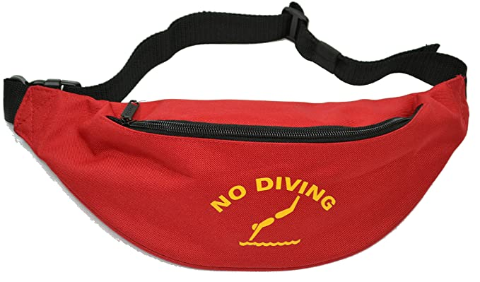 77cba7ba2320 Lifeguard No Diving Baywatch Fun Fancy Dress Accessory Bum Bag FREE POSTAGE   Amazon.co.uk  Clothing
