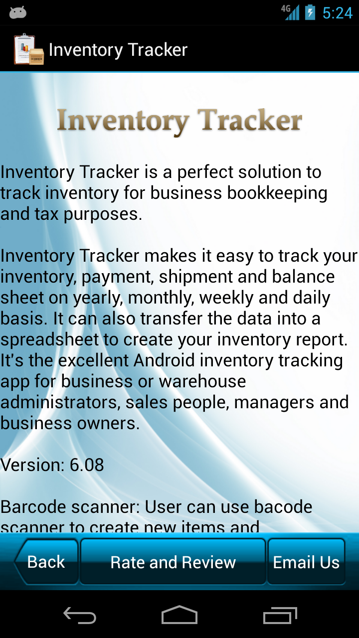 amazon com inventory tracker appstore for android