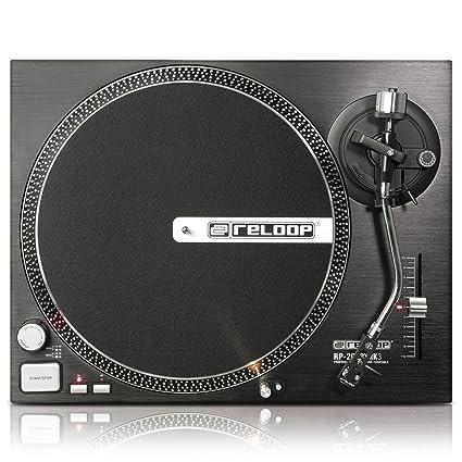 Amazon.com: Reloop RP-2000 MK3 Tocadiscos Direct Drive con ...