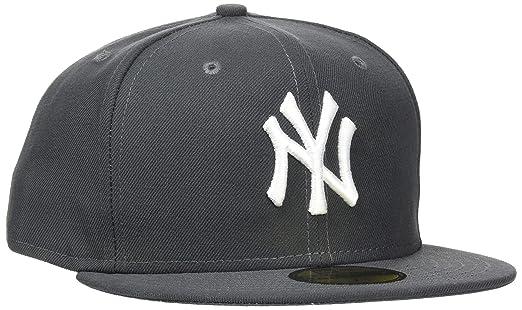 7 opinioni per New Era MLB Basic berretto da Baseball adulto NY Yankees 59 Fifty Fitted