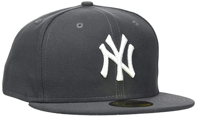 best cheap 9bf84 6702e ... reduced new era 59fifty mlb basic new york yankeesfitted basecap kappe  cap herren mens at amazon