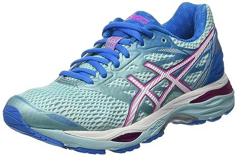 ASICS T6C8N6701, Zapatillas de Running para Mujer, Azul (Aqua Splash / White /