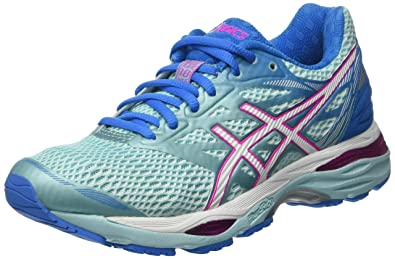 ASICS Women's Gel Cumulus 18 Running Shoes, Blue, 9.5 UK