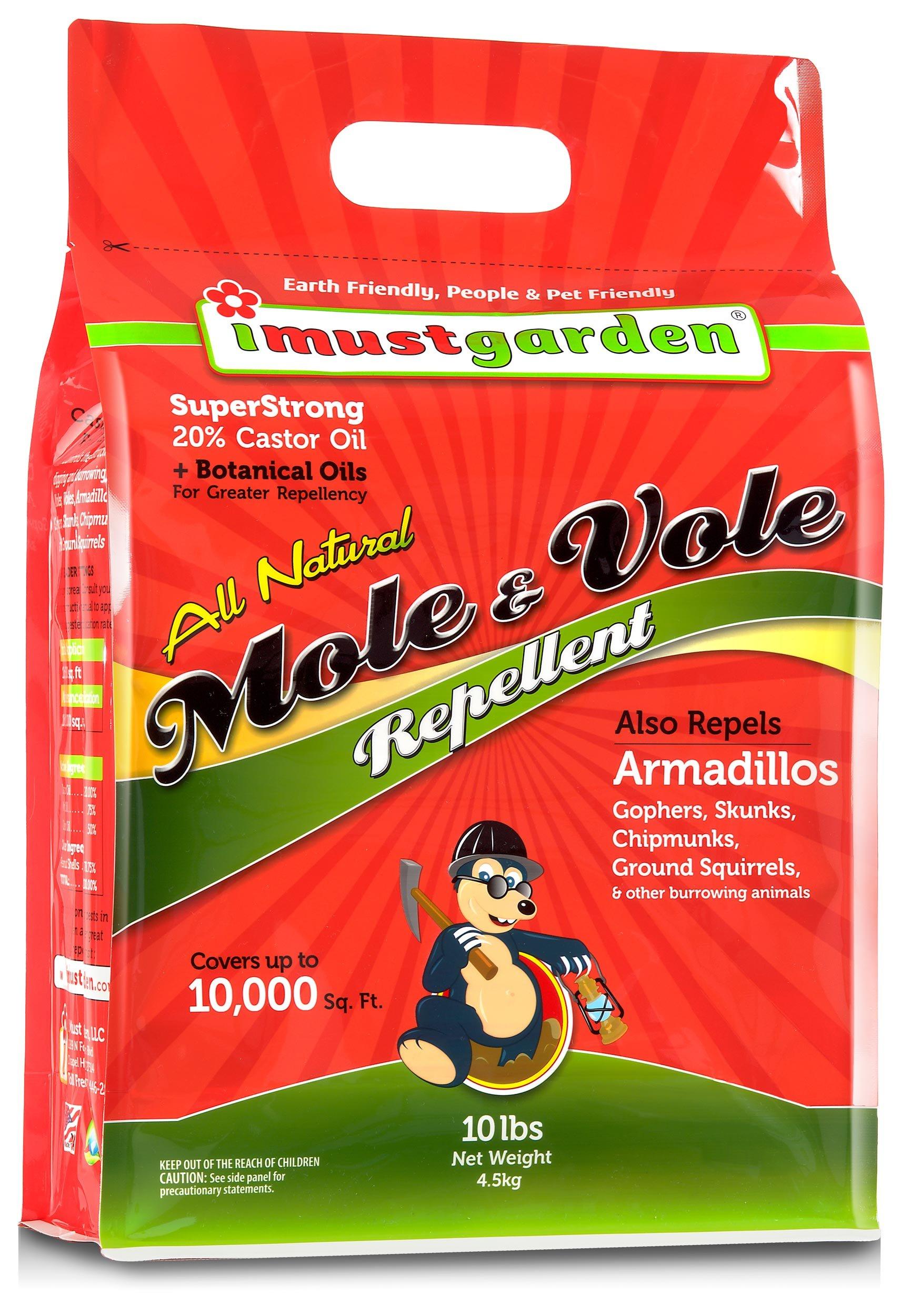 I Must Garden Natural Mole & Vole Repellent 10lb. Granular