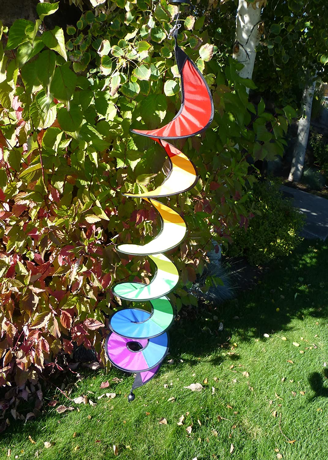 In The Breeze 48-Inch Rainbow Curlie Spinner
