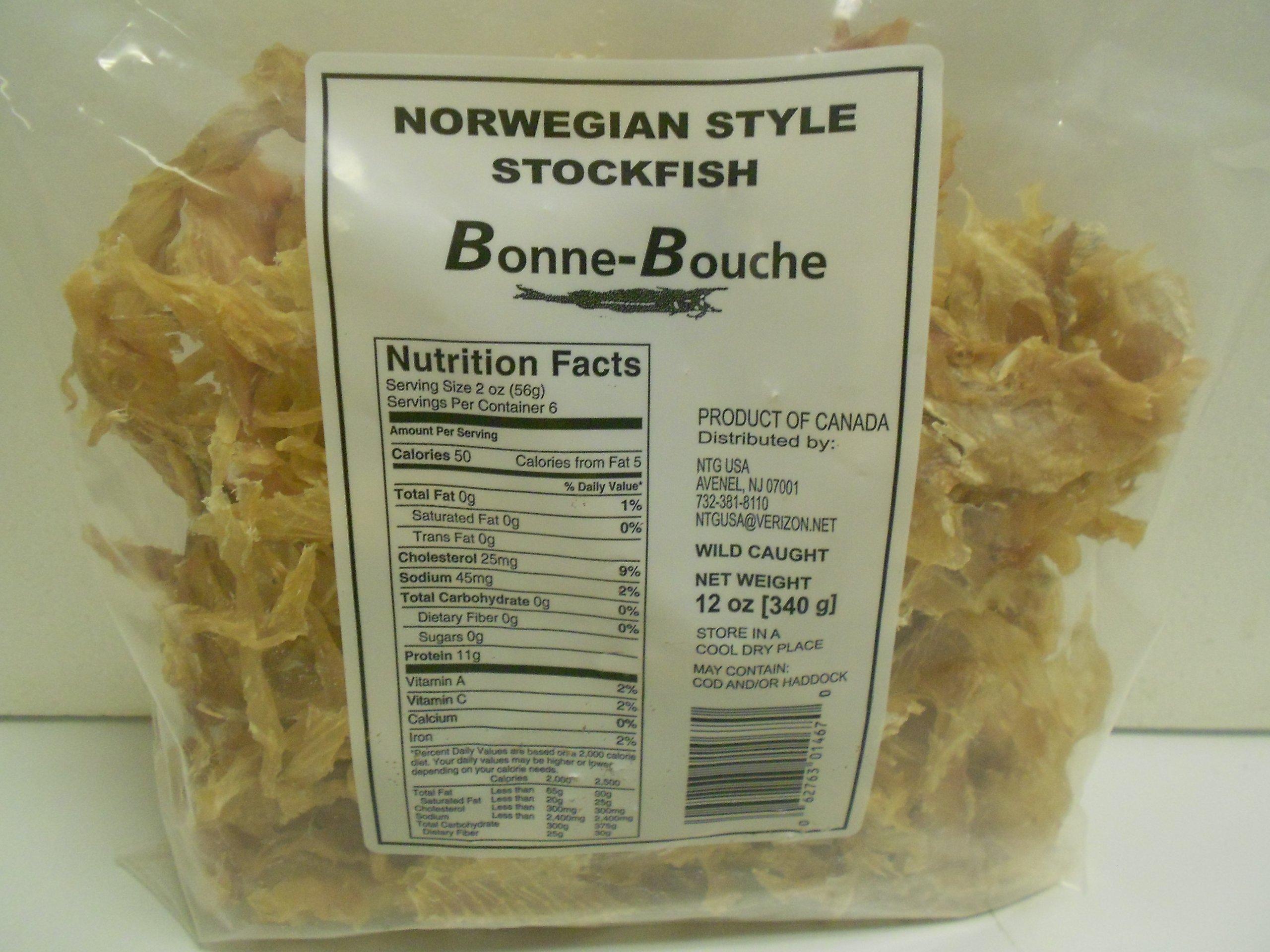 Norwegian Style Stockfish Bits