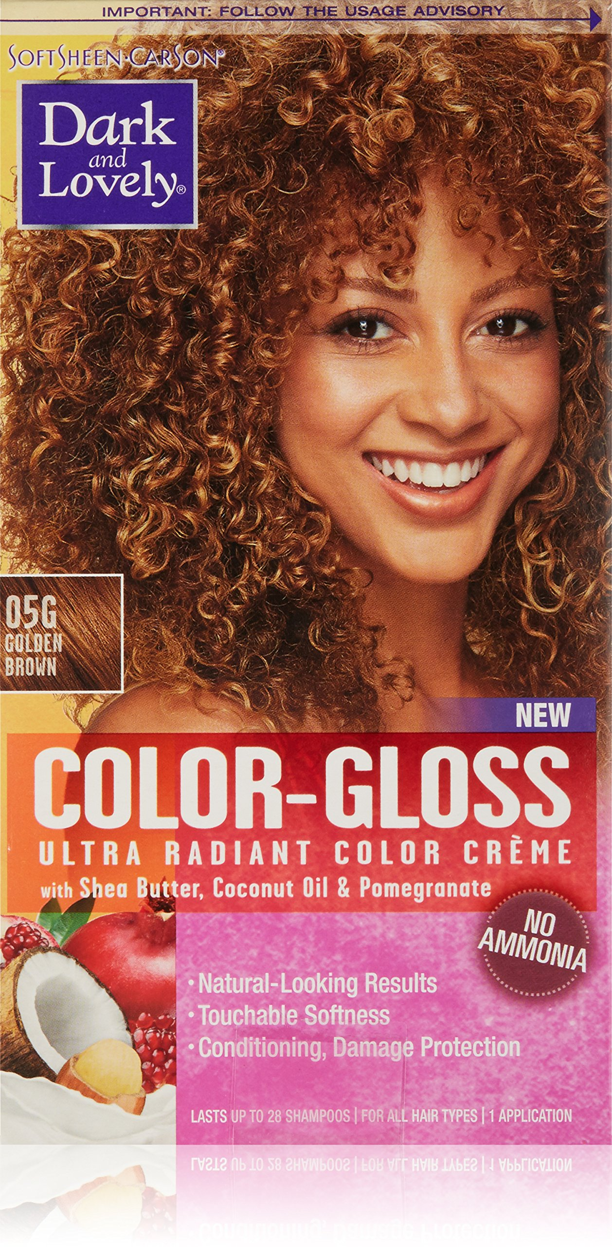 Amazon Softsheen Carson Dark And Lovely Color Gloss Ultra
